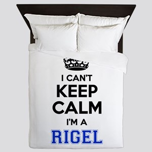 I can't keep calm Im RIGEL Queen Duvet