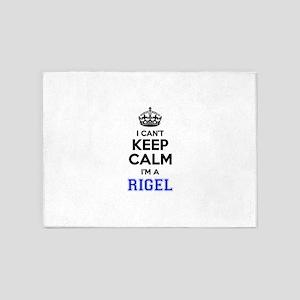 I can't keep calm Im RIGEL 5'x7'Area Rug