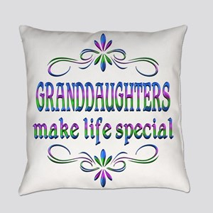 Granddaughters Make Life Special Everyday Pillow