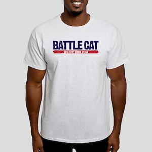 Battle Cat USS Kitty Hawk CV 63 Light T-Shirt