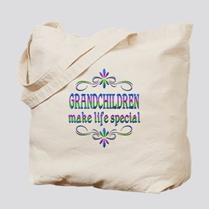 Grandchildren Make Life Special Tote Bag