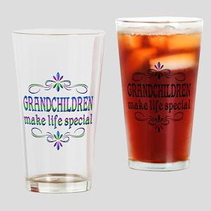 Grandchildren Make Life Special Drinking Glass
