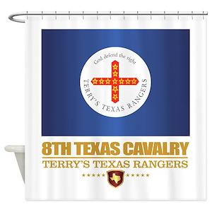 Texas Ranger Shower Curtains
