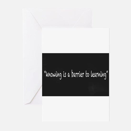 Chalkboard Message Greeting Cards