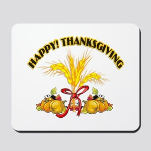 Thanksgiving Harvest Mousepad