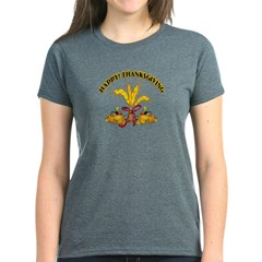 Thanksgiving Harvest Women's Dark T-Shirt
