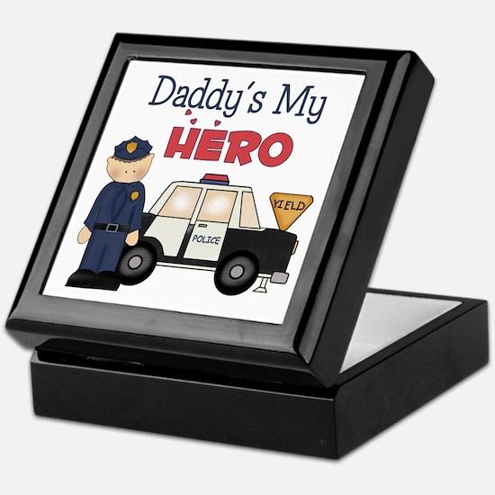 Daddy's My Hero Keepsake Box
