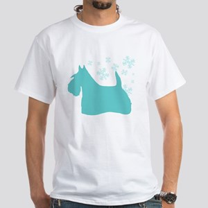 Scottie Snowflake White T-Shirt