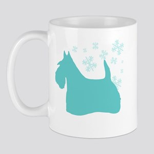 Scottie Snowflake Mug