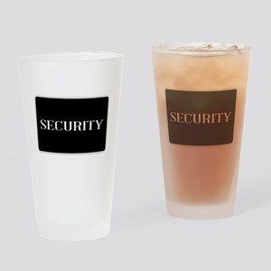 Security Drinking Glass