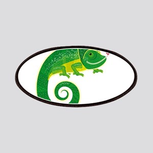 Chameleon love art Patch