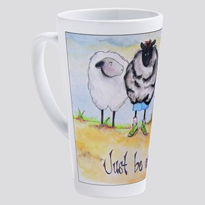 be ewe kr 17 oz Latte Mug