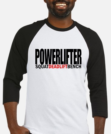 SQUATDEADBENCH812 on white Baseball Jersey
