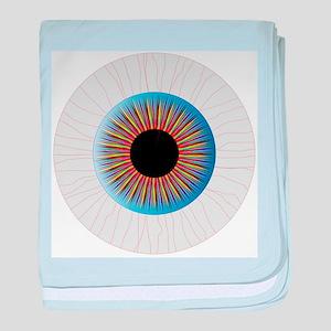 Bloodshot Eye baby blanket