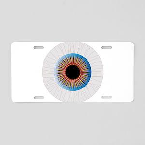 Bloodshot Eye Aluminum License Plate