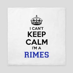 I can't keep calm Im RIMES Queen Duvet