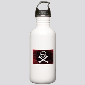 Jolly Roger With Eyeba Stainless Water Bottle 1.0L