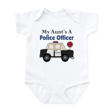 My Aunt's A Police Officer Infant Bodysuit