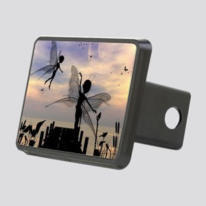 Cute fairy dancing on a jetty Hitch Cover