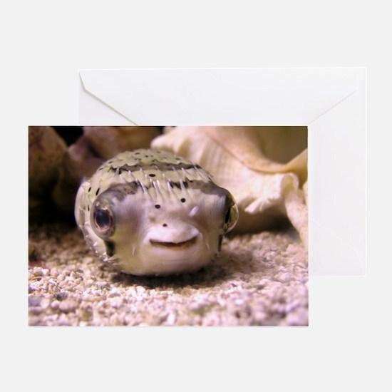 Helaine's Blowfish (Pufferfish ) Greeting Card