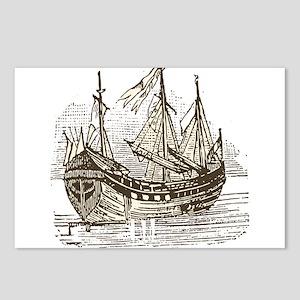 Vintage transport ship Postcards (Package of 8)