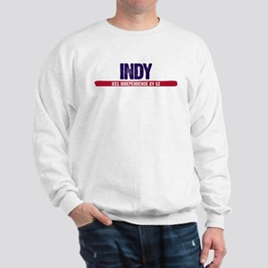 Indy USS Independence CV 62 Sweatshirt