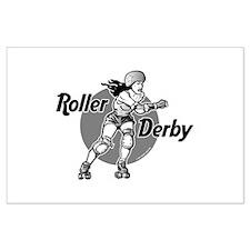 Roller Derby @ eShirtLabs.Com Large Poster