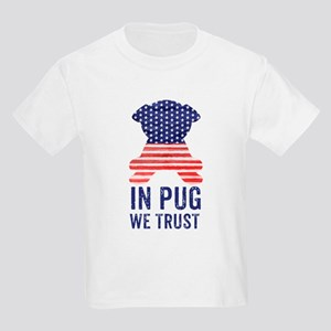 Stars and Stripes In Pug We Trust T-Shirt