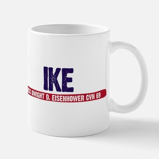 Ike Uss Dwight D. Eisenhower Mug Mugs
