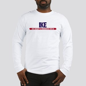 Ike USS Dwight D. Eisenhower Long Sleeve T-Shirt