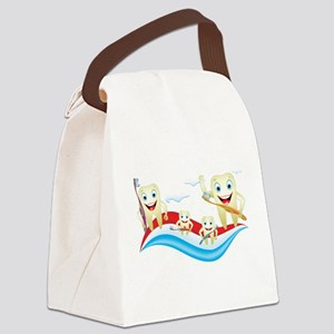 Dental care lovely Canvas Lunch Bag