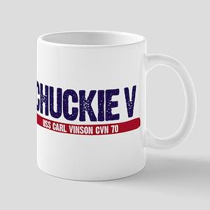 Chuckie V Uss Carl Vinson Cvn 70 Mug Mugs