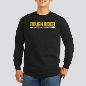 Rough Rider USS Theodore Long Sleeve Dark T-Shirt