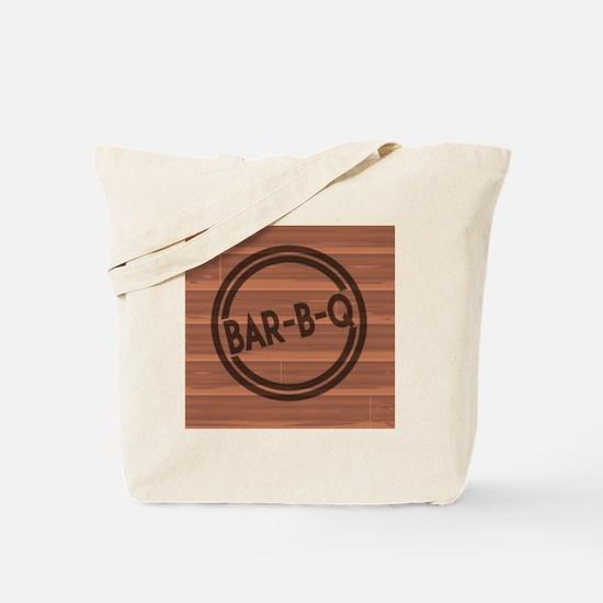 Cute Bar b q Tote Bag