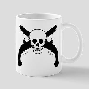 Skull and Pistols Mugs