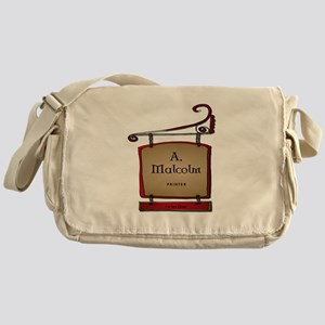 Jamie A. Malcolm Printer Messenger Bag