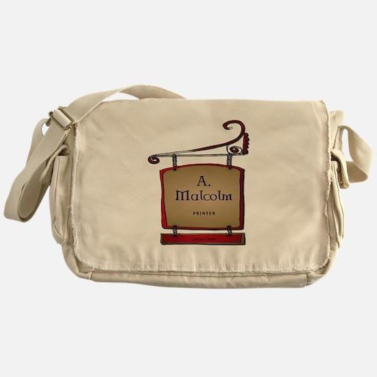 Jamie A. Malcolm Printer Messenger Bag