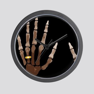Hand Bones Wall Clock