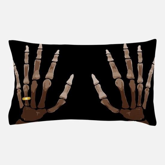 Hand Bones Pillow Case
