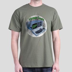 Vintage Geek Dark T-Shirt