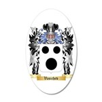 Vasichev 20x12 Oval Wall Decal