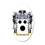 Vasichev 35x21 Oval Wall Decal