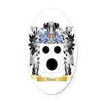 Vasic Oval Car Magnet