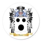 Vasic Round Car Magnet