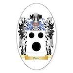 Vasic Sticker (Oval 10 pk)