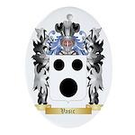 Vasic Oval Ornament