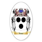 Vasey Sticker (Oval 50 pk)