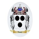 Vasey Oval Ornament