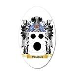 Vasechkin 20x12 Oval Wall Decal