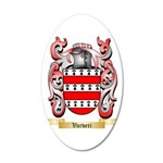 Varveri 20x12 Oval Wall Decal